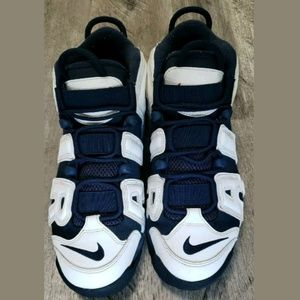 Nike Shoes - Nike Air More Uptemo Olympic 2016 Release High Top